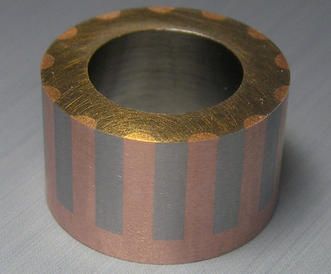 copper rotor section